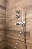 close up of Shower box in the bathroom
