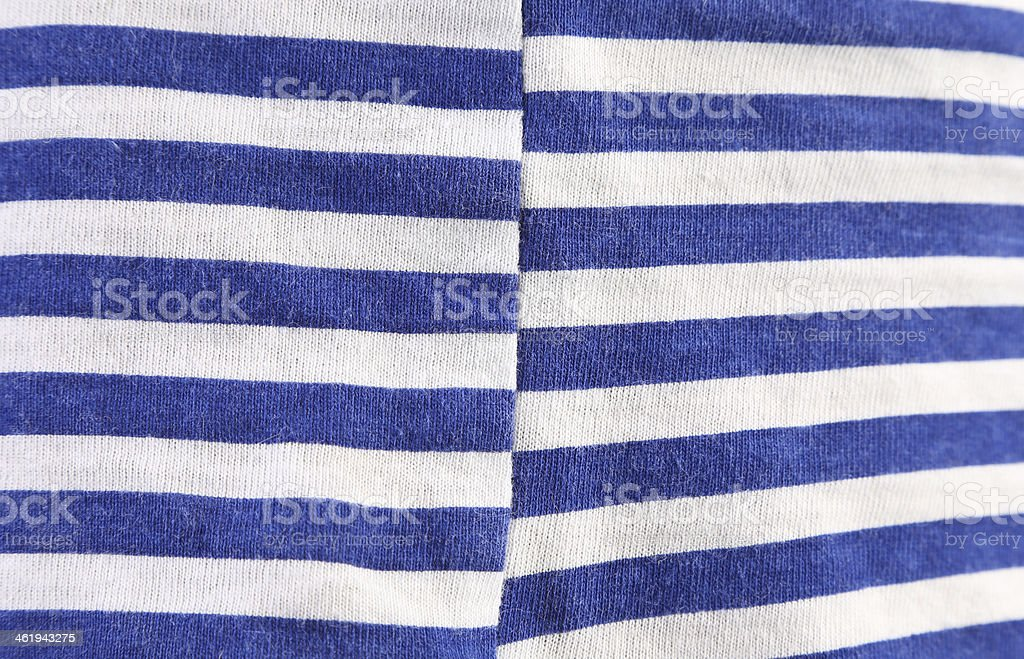 Close up of striped blue white texture. royalty-free stock photo