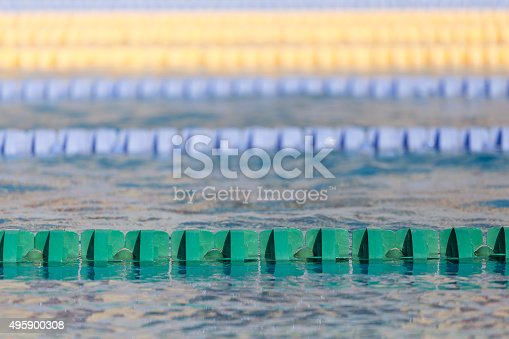 close up of swim lanes in olympic swimming pool stock photo 495900308 istock