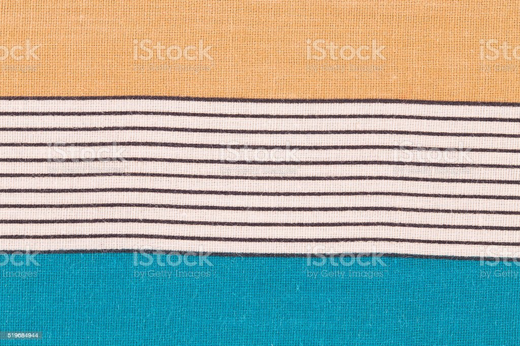 Close up of tablecloth. stock photo