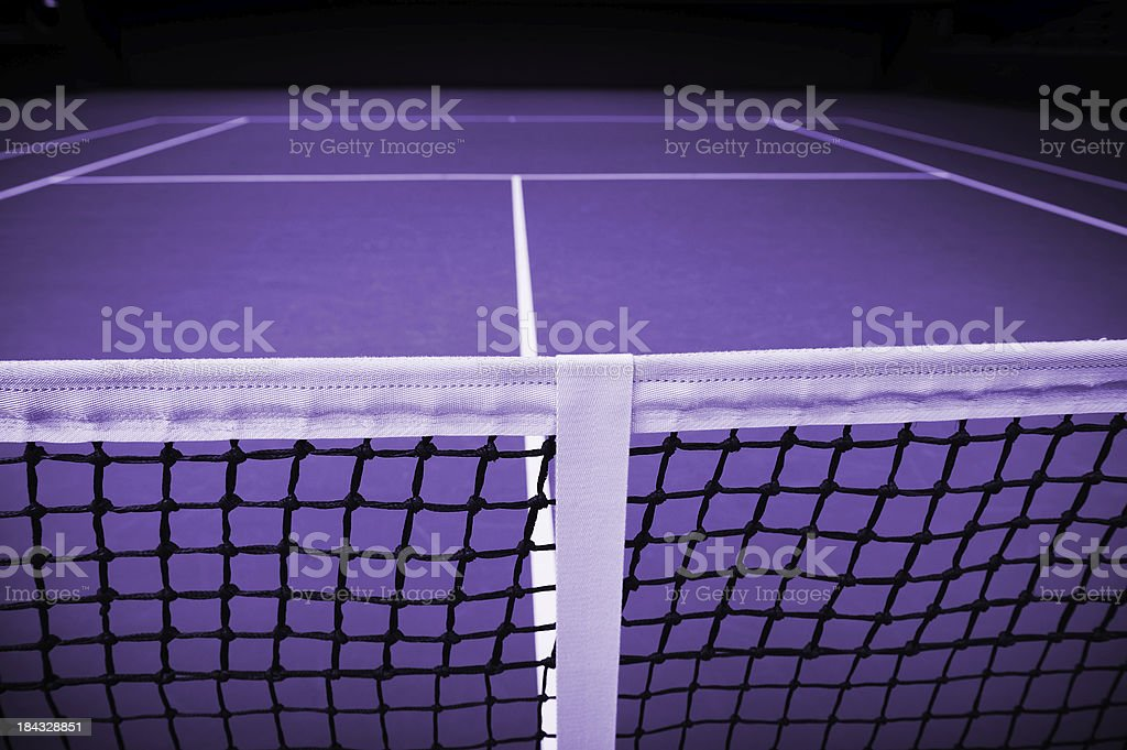 Close up of tennis net royalty-free stock photo