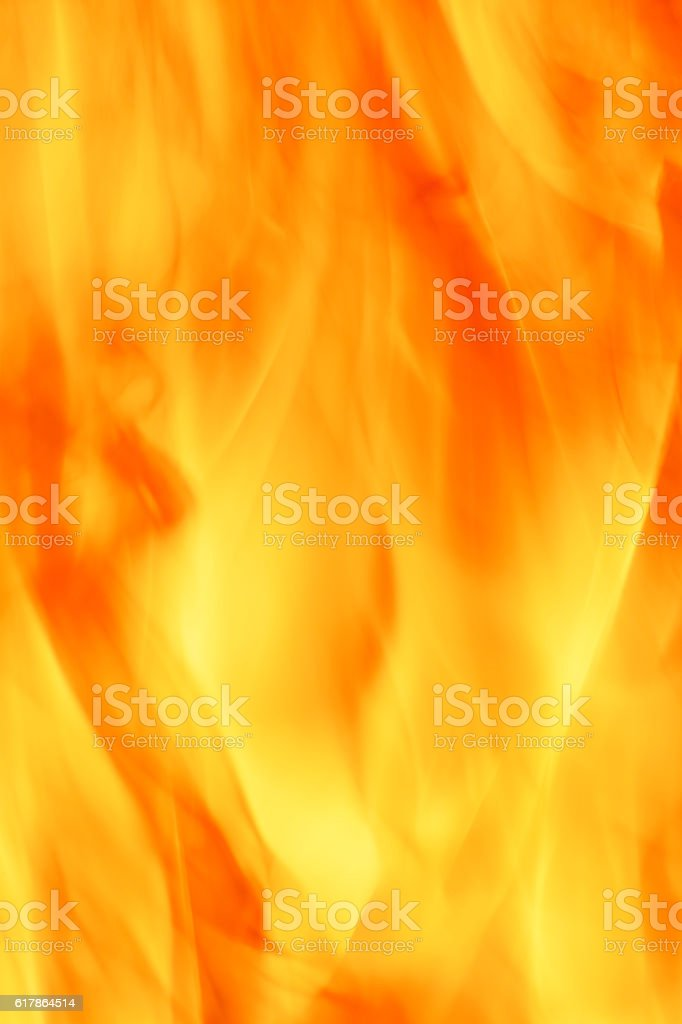 close up of the fire stock photo
