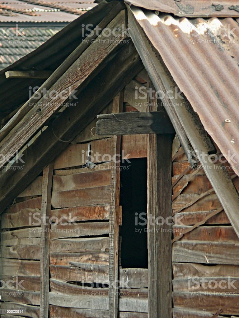 Close up of traditional Indian house stock photo