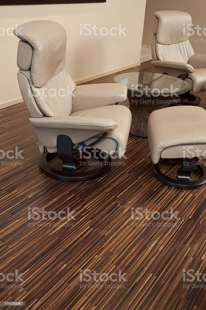 Close up of unique hardwood floor stock photo