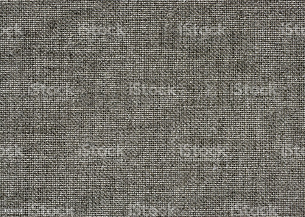 Close up of unprimed linen canvas for painting stock photo