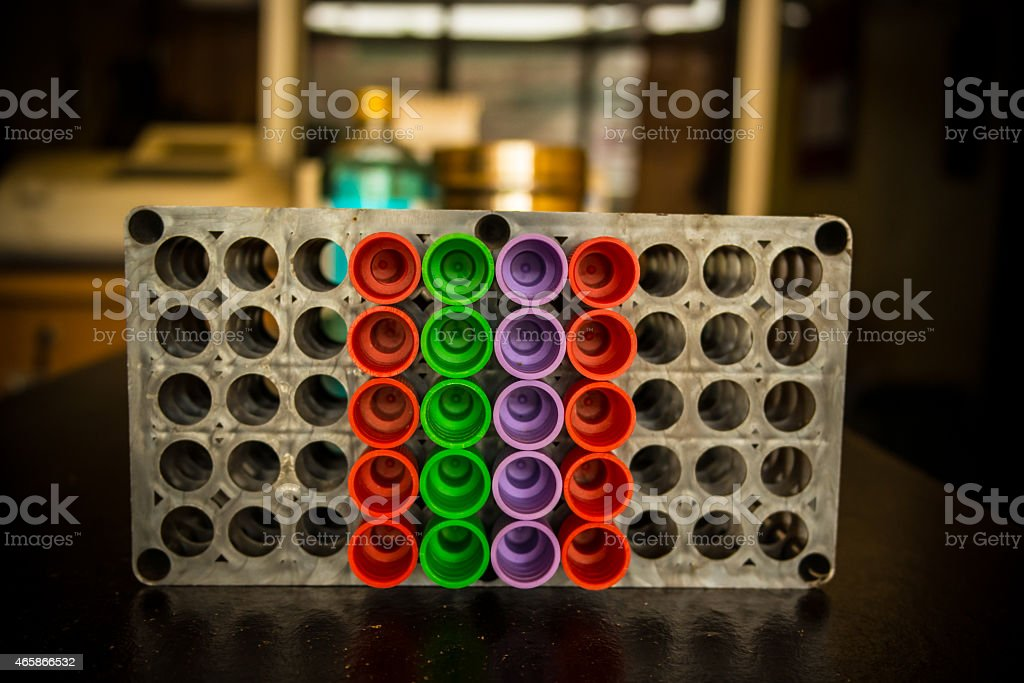 Close up of  vacuum tubes. stock photo