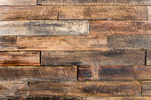 close up of wall made of wooden planks wood texture