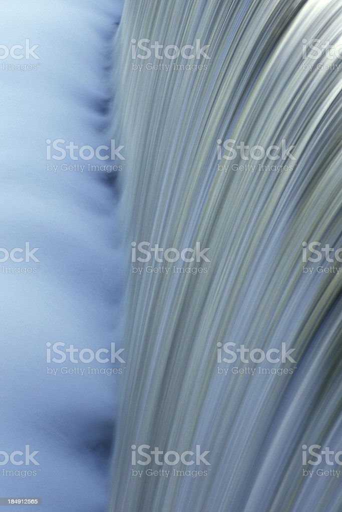 Close Up of Waterfall royalty-free stock photo