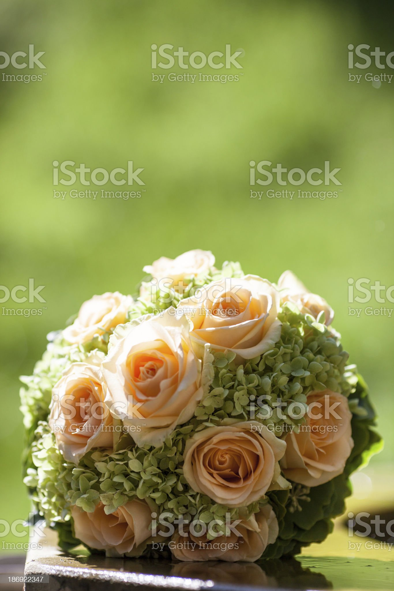 close up of wedding bouquet royalty-free stock photo