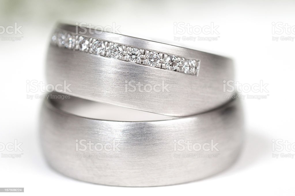 close up of wedding ring stock photo