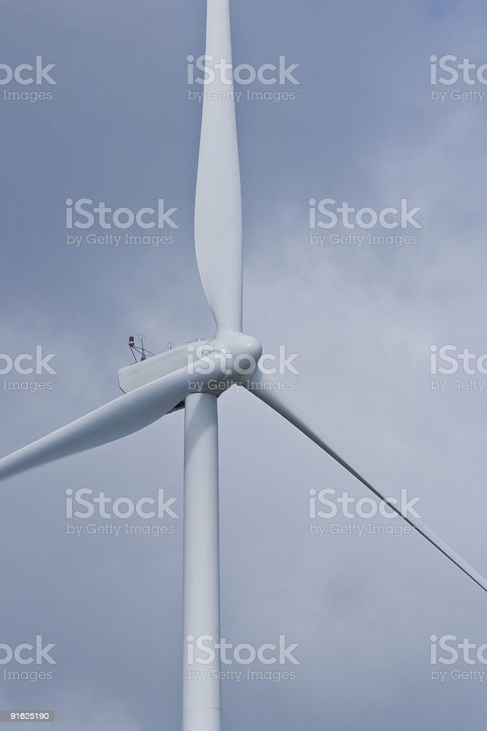 Close up of wind mill royalty-free stock photo