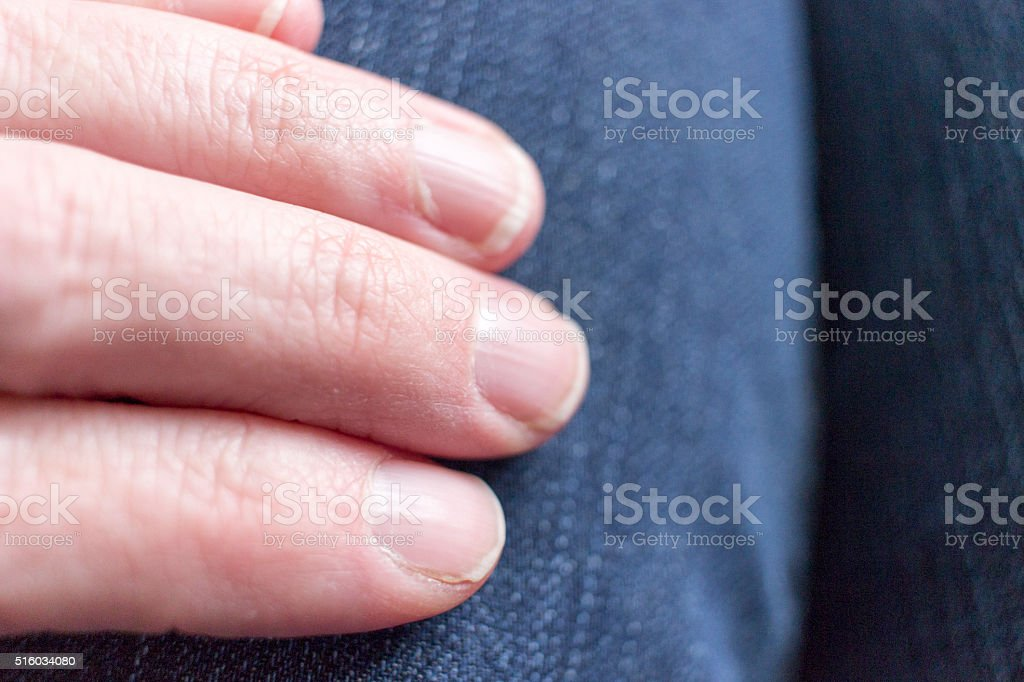 Close up of Womans Hand stock photo
