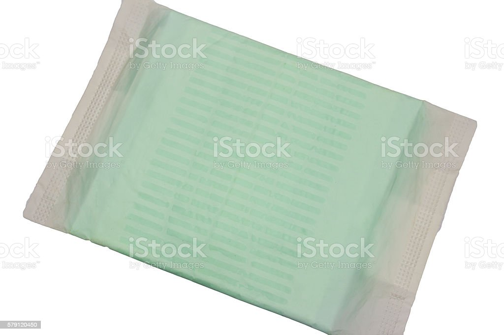 close up of women hygiene protection stock photo