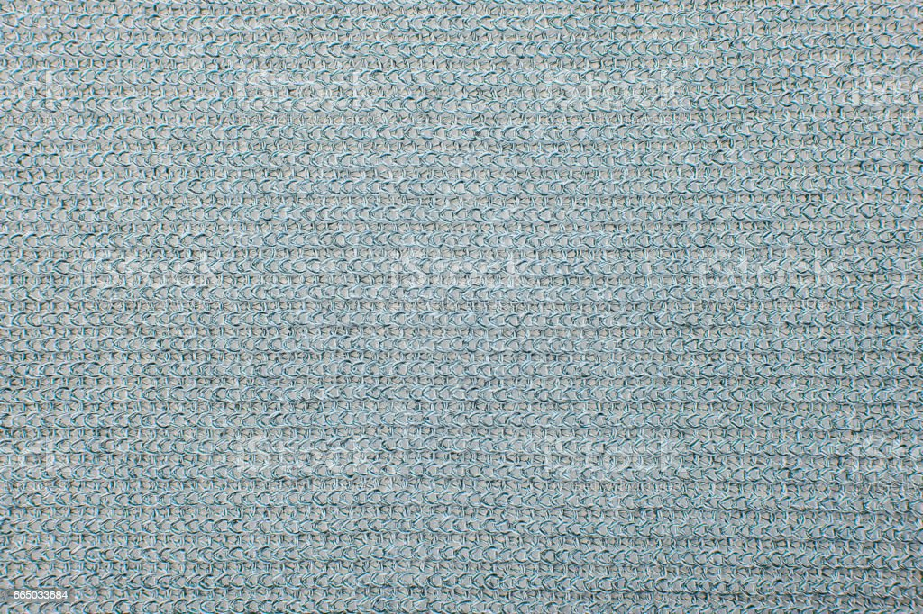 Close up on knit woolen fur texture stock photo