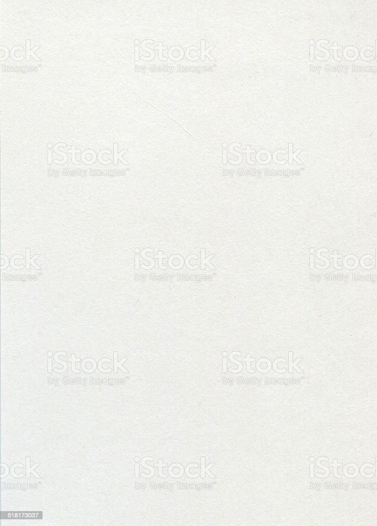 Close Up on White Paper (High Resolution Image) stock photo