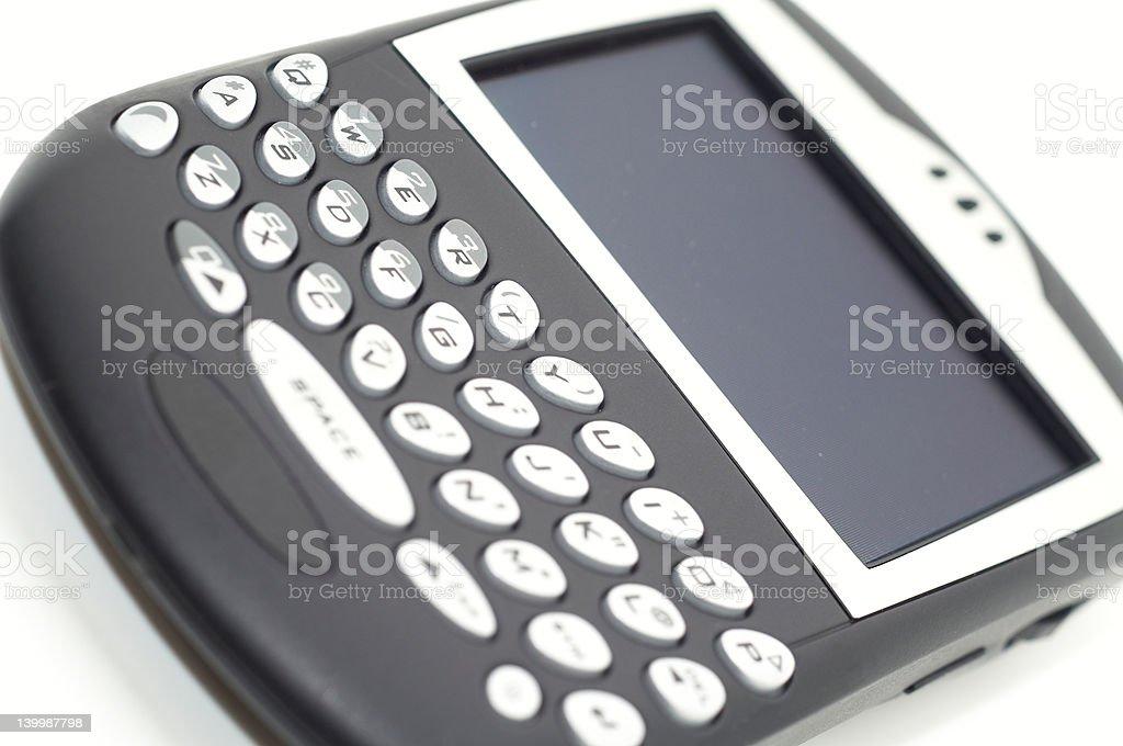 PDA Close Up royalty-free stock photo