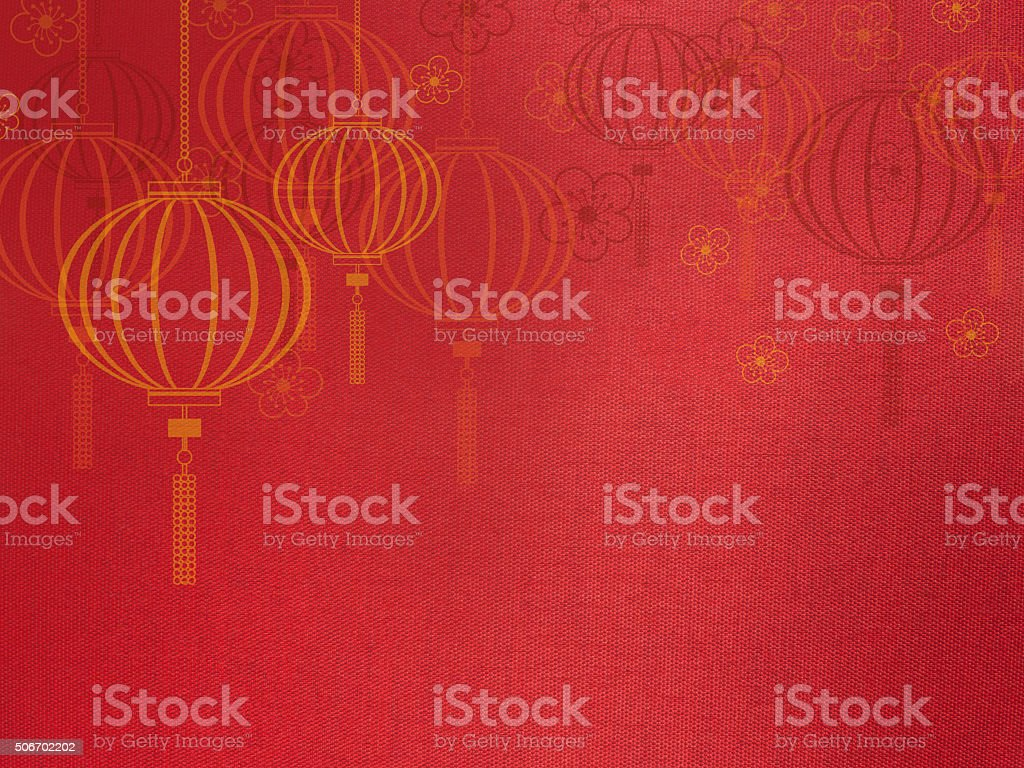 Close up red silk fabric, stock photo