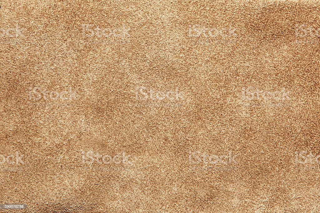 Close up shammy leather texture stock photo