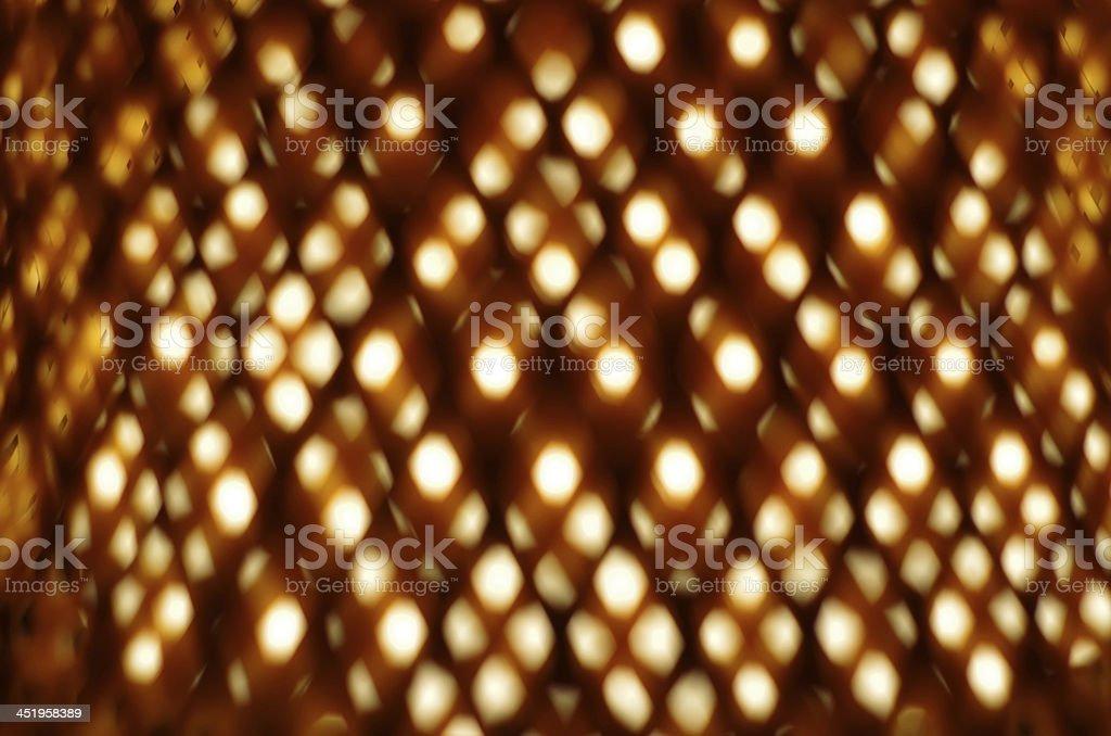 Close up shot of lamp shade royalty-free stock photo