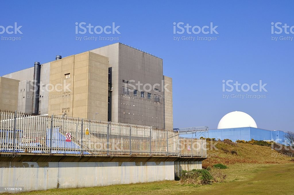 Close up Sizewell royalty-free stock photo