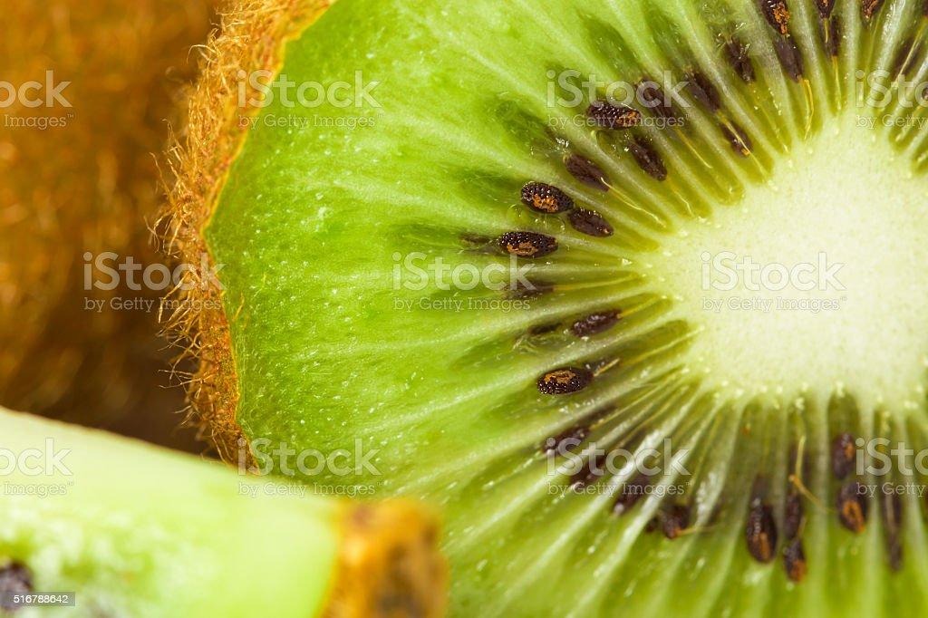 Close up slice stock photo
