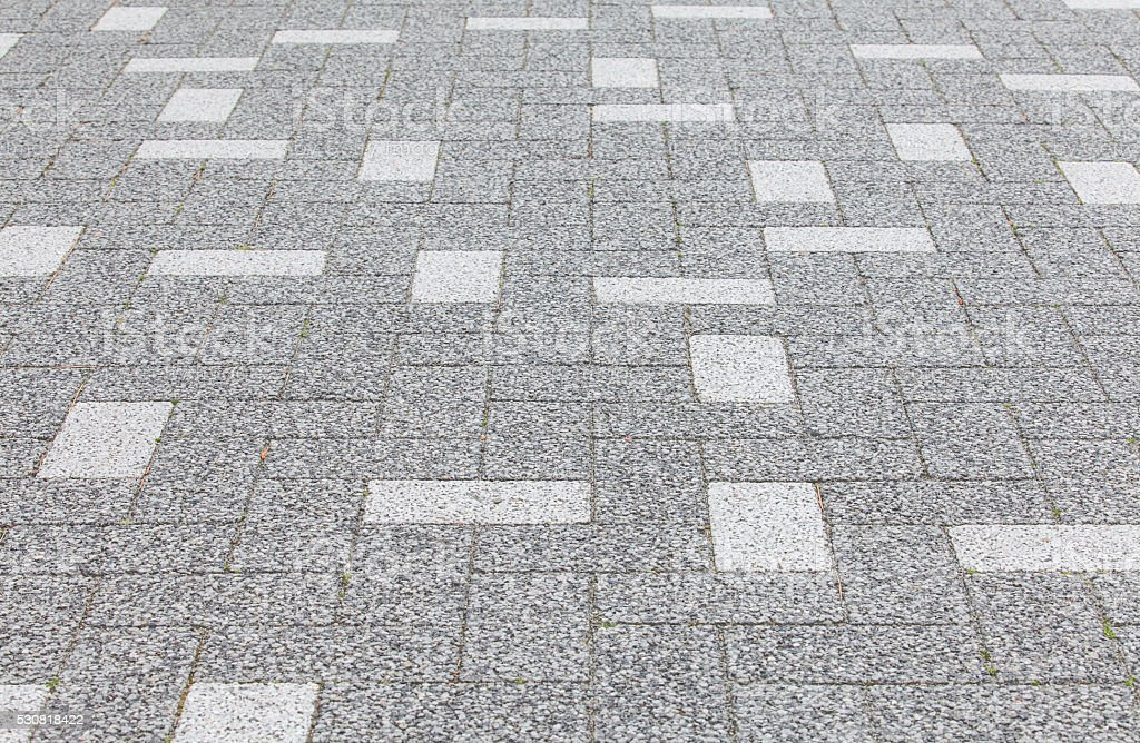 close - up street floor tiles as background.. stock photo