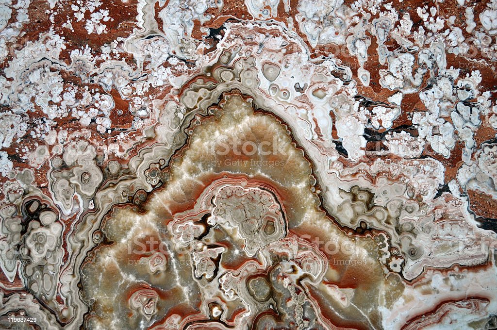 Close up texture of brown and white patterned stone royalty-free stock photo
