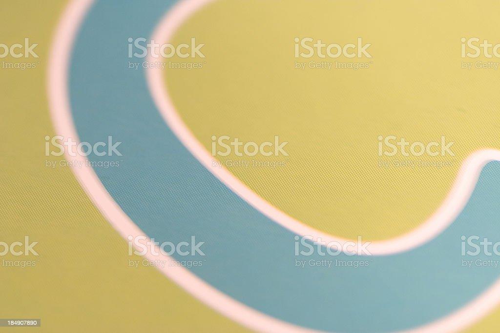 Close Up Type stock photo