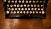 Close Up Typewriter Keys