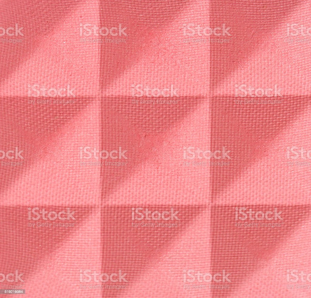Close up view blush stock photo