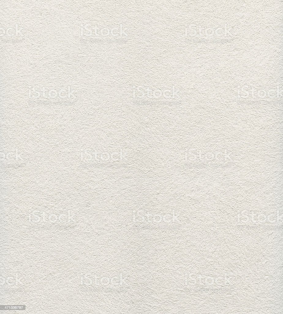 Close up view of a white felt textured paper  stock photo