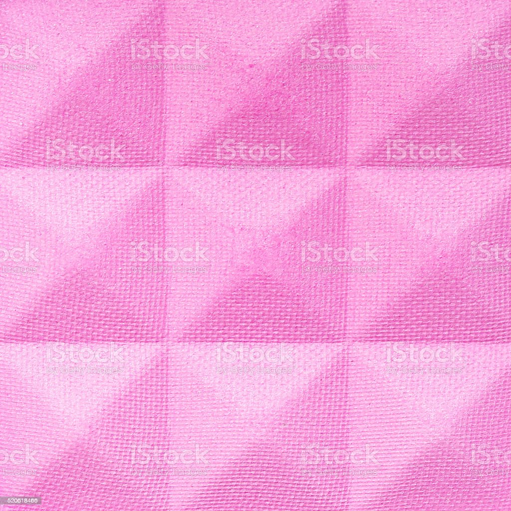 Close up view of slightly used blush or eye shadow stock photo