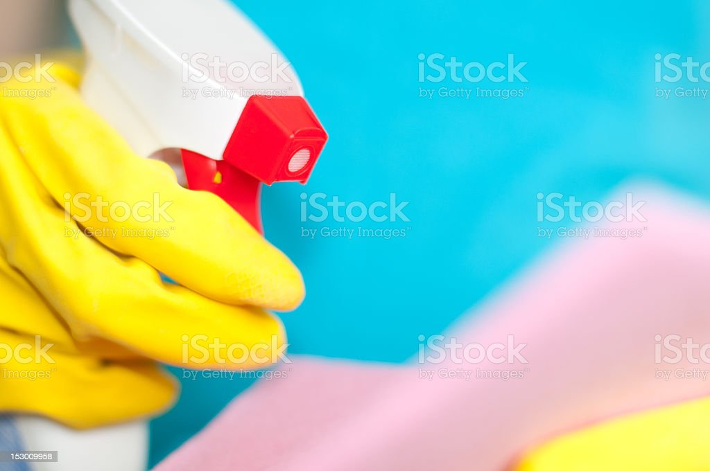 close up view of sprayer royalty-free stock photo