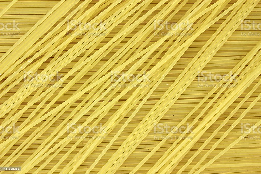 Close view of angel hair pasta royalty-free stock photo