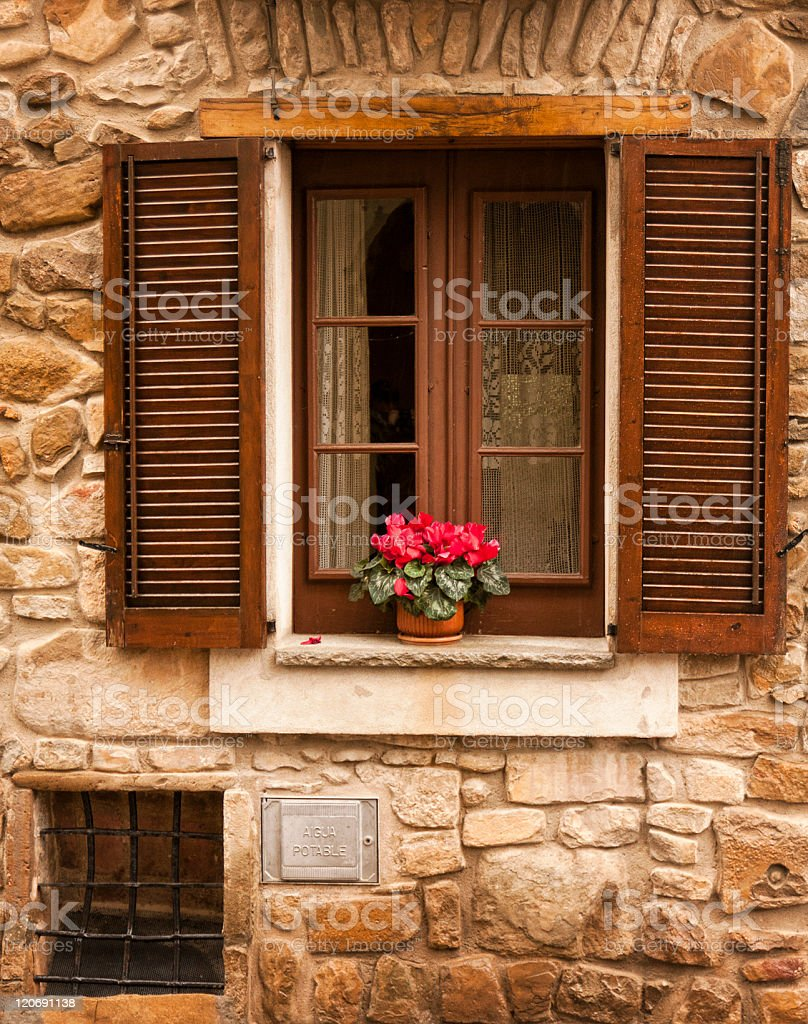Close window royalty-free stock photo