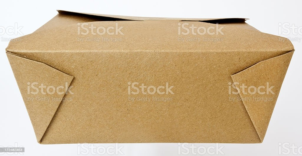 Closed Box Lunch royalty-free stock photo