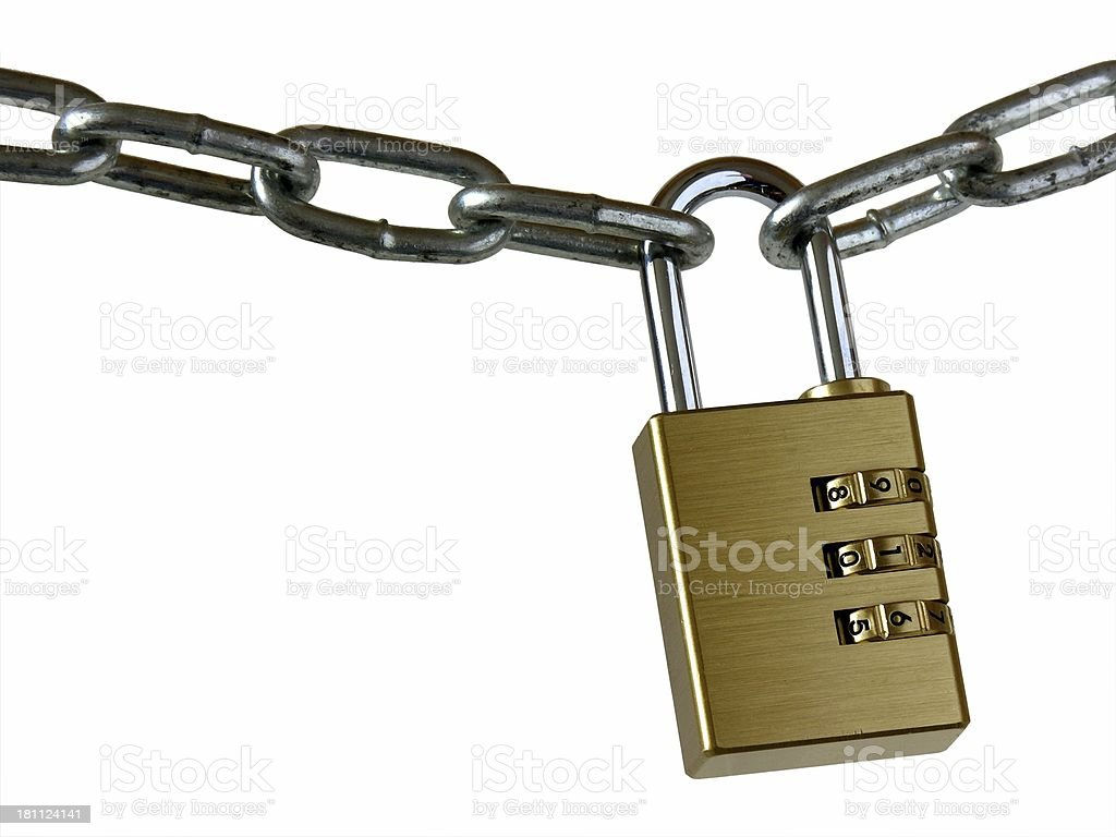 Closed chain royalty-free stock photo
