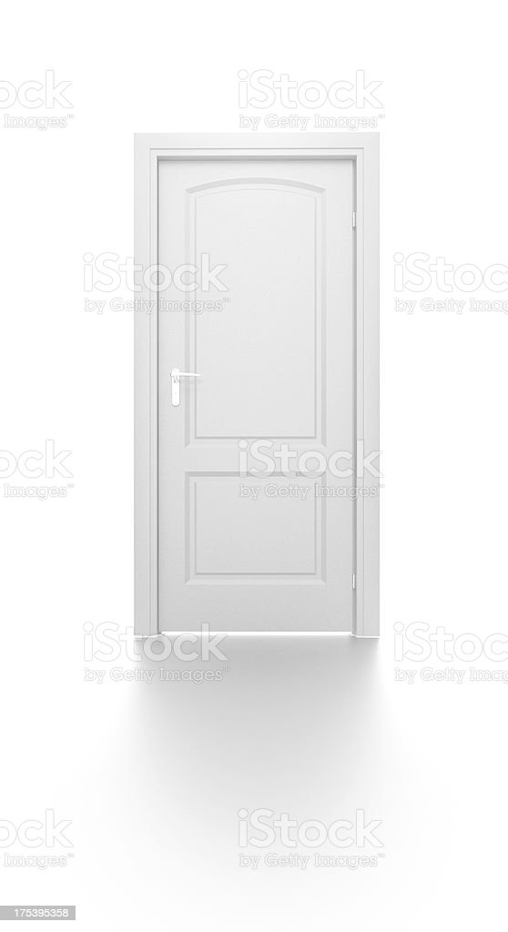 Closed Door stock photo