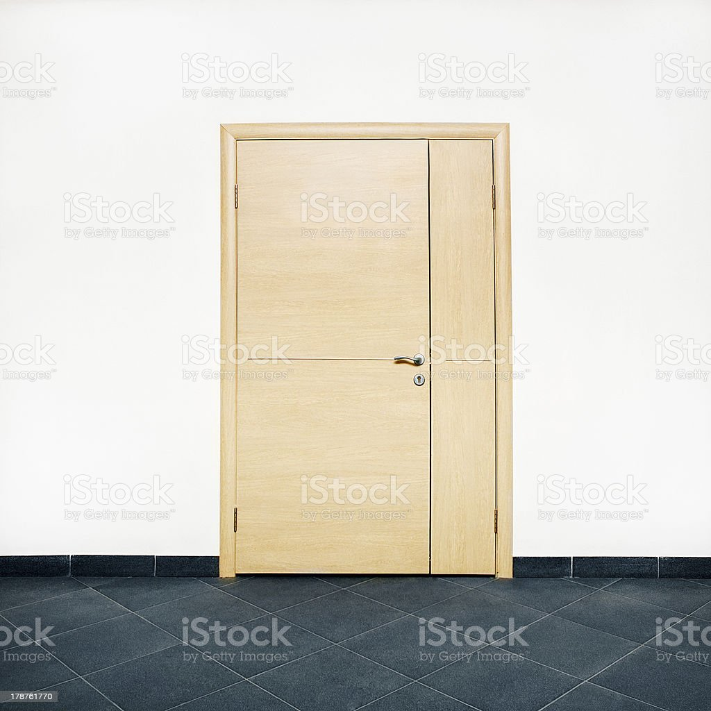closed door royalty-free stock photo