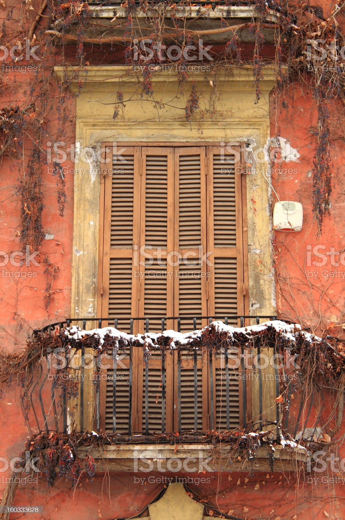 Closed for winter royalty-free stock photo