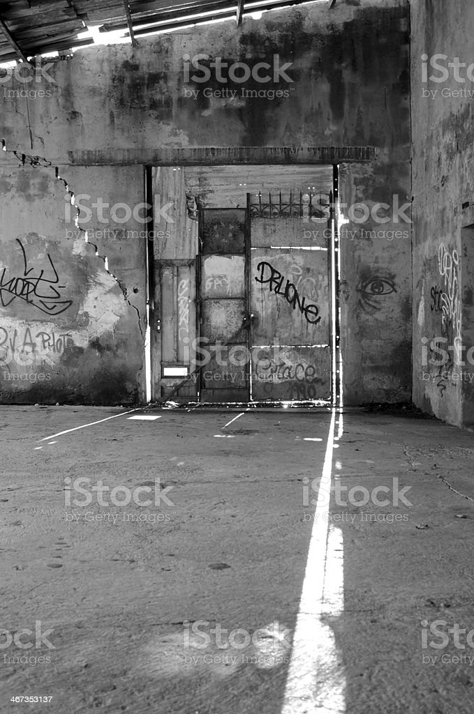 Closed Gate stock photo