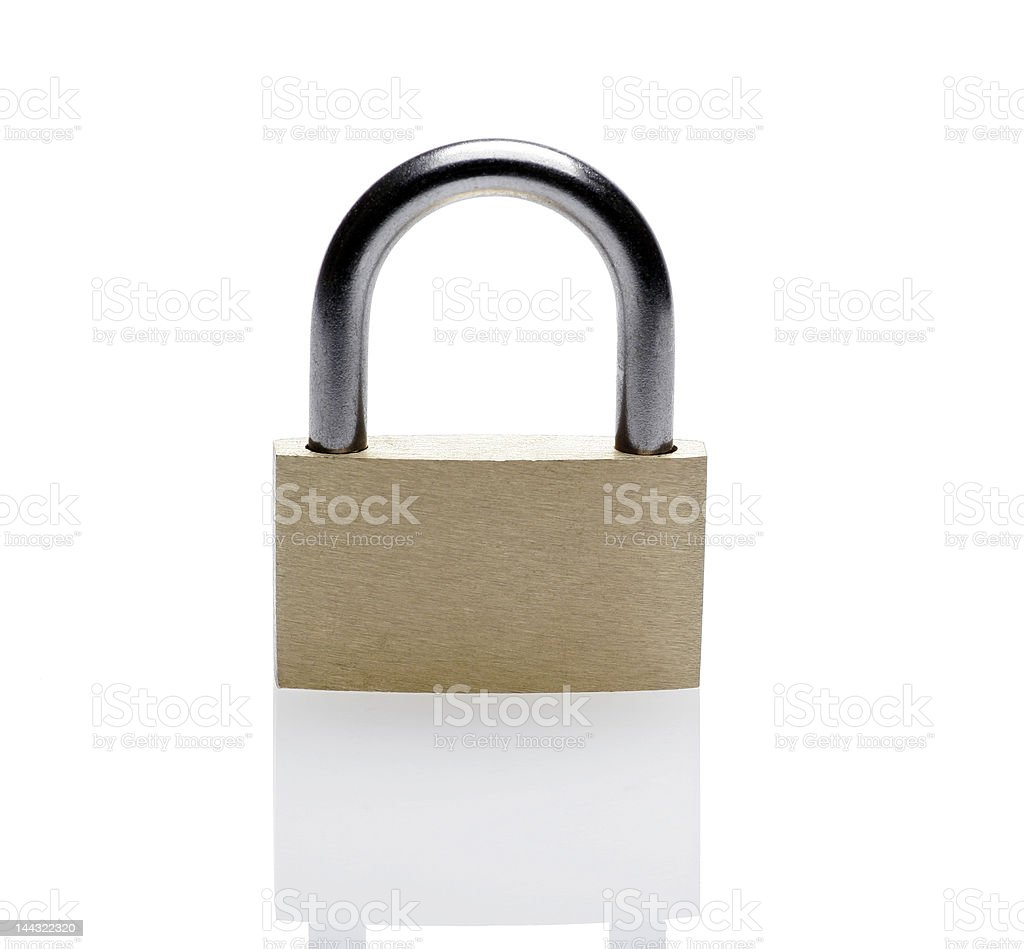 Closed Padlock royalty-free stock photo