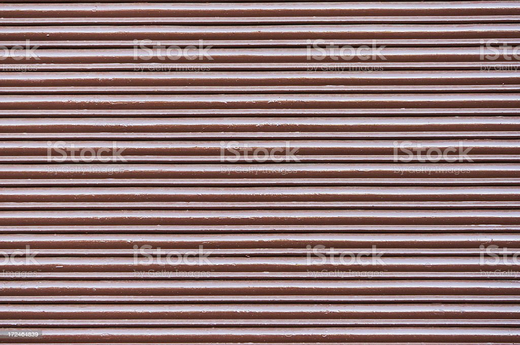 Closed Shutter Door royalty-free stock photo