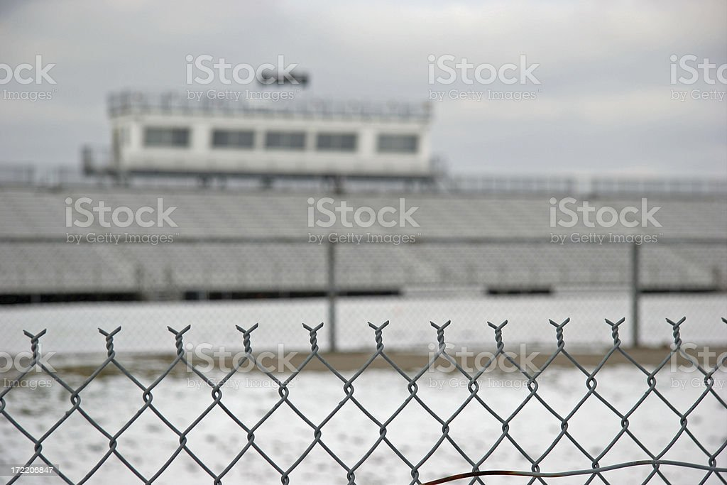 Closed Stadium stock photo