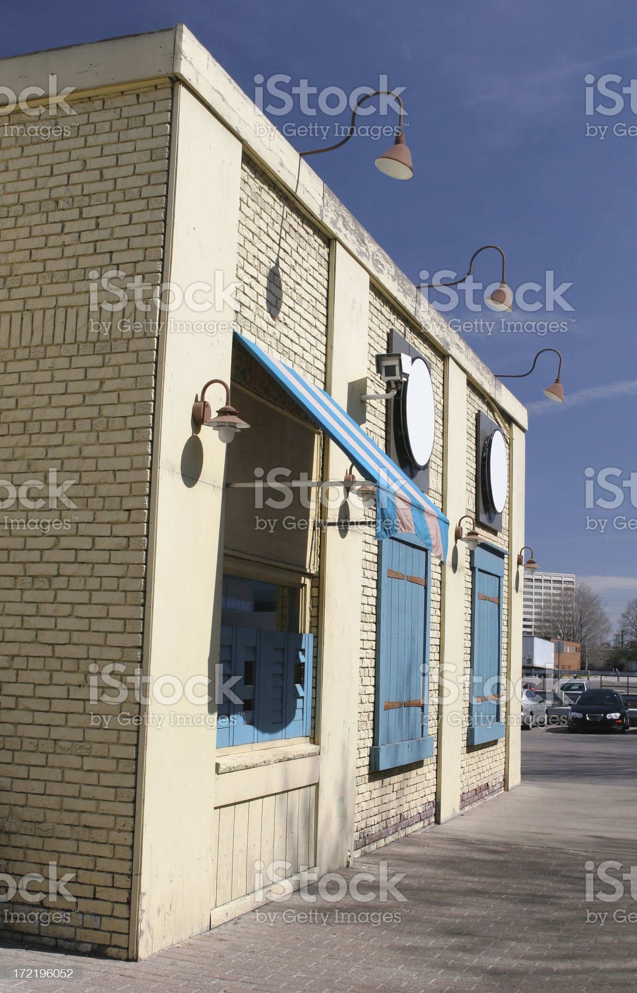Closed Store royalty-free stock photo