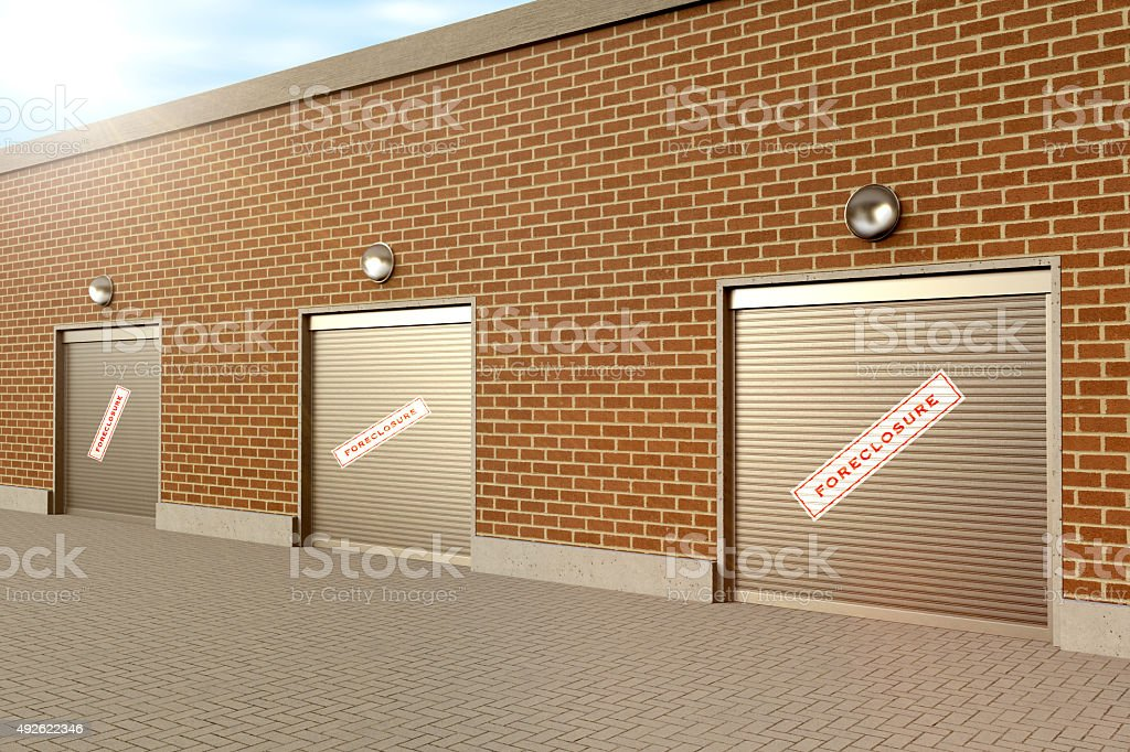 Closed Store stock photo