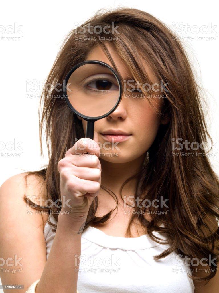 Closer Examination royalty-free stock photo