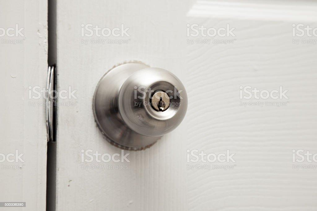 Closet door stock photo