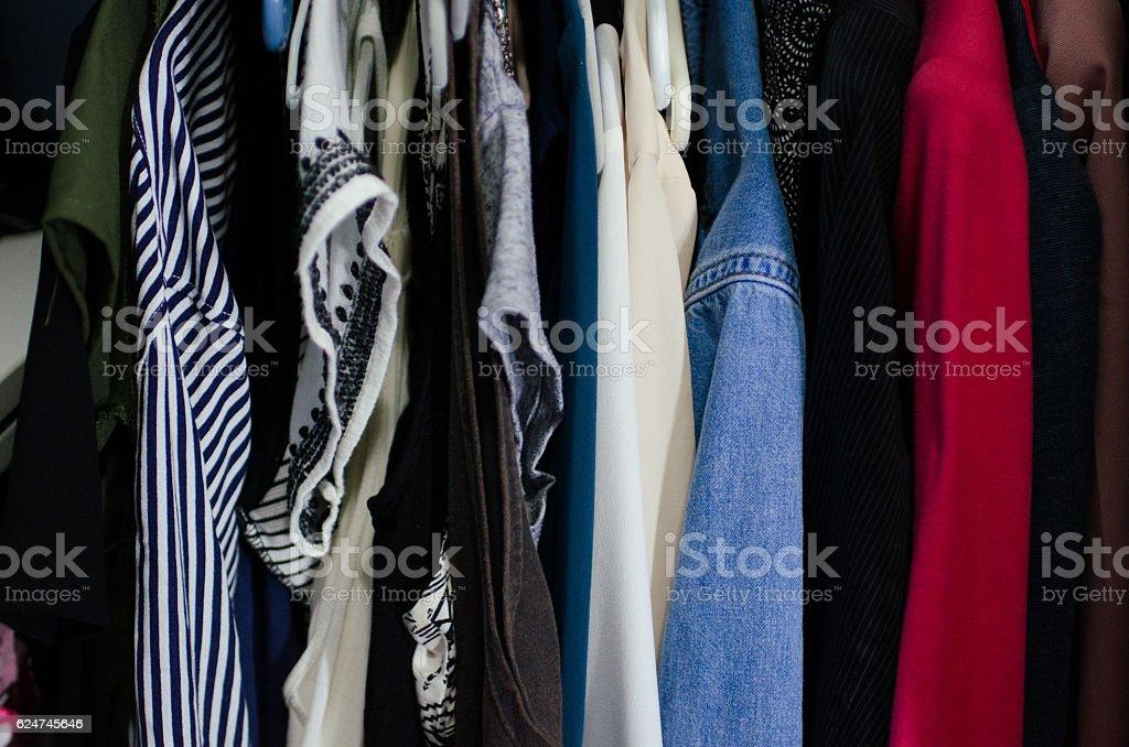 closet stock photo