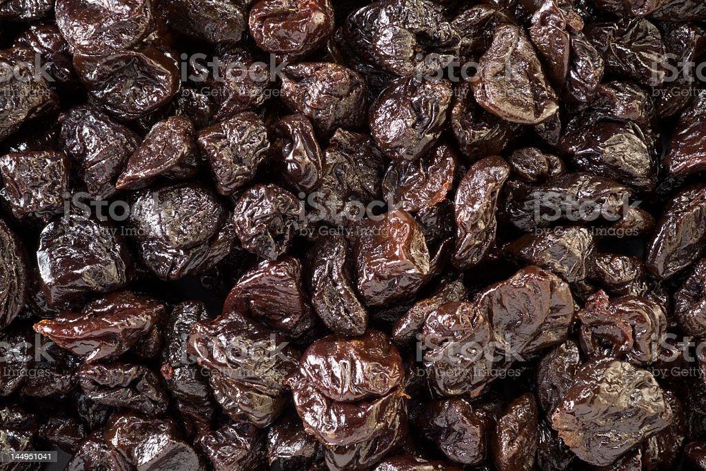 Close-up background image of prunes stock photo